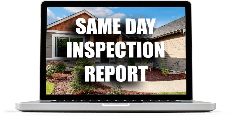 Same Day Inspection Report Laptop