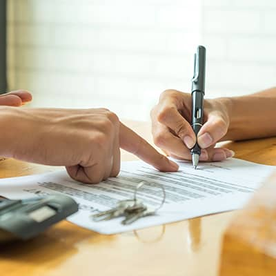 Signing House Contract